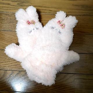 チュチュアンナ(tutuanna)のチュチュアンナ うさぎ ボアアニマルミトン手袋(手袋)