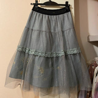 axes femme - ラメスカート