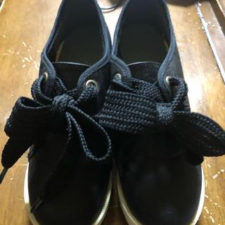 ピンクラテ(PINK-latte)のピンクラテ黒い靴 卒業式等に(ローファー/革靴)