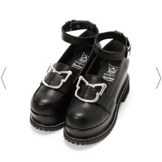 ユメテンボウ(夢展望)の夢展望 クロミバックルパンプス(ローファー/革靴)