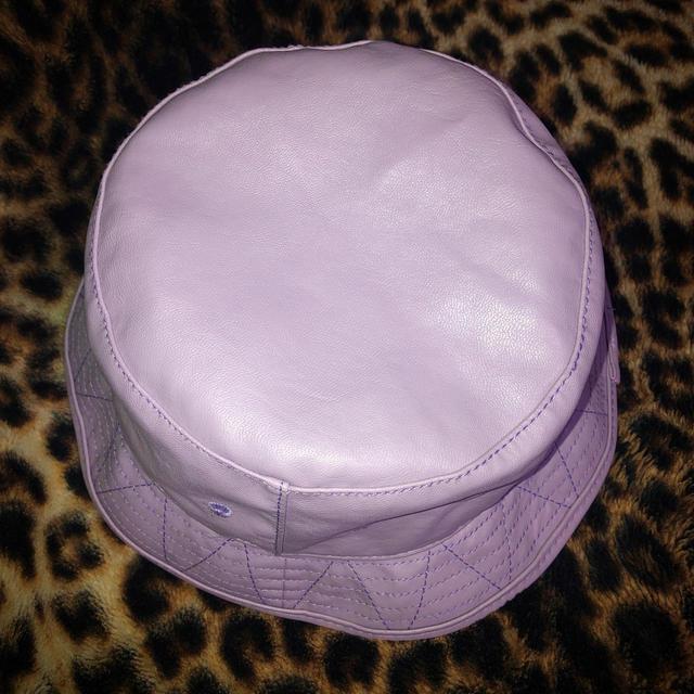 X-girl(エックスガール)のX-Girl オシャレ ロゴハット帽子💜💜💜 レディースの帽子(ハット)の商品写真