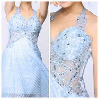 デイジーストア(dazzy store)の新品*S*wシースルー*ギンガムチェックドレス*(ミニドレス)