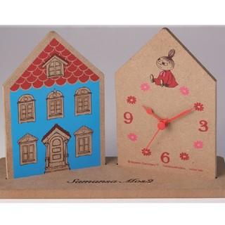 Little Me - リンネル 3月号 増刊 セブン 限定 付録 ムーミンハウス型 置時計