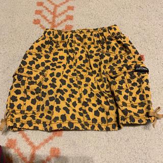 エーアーベー(eaB)のレオパード スカート 120(スカート)