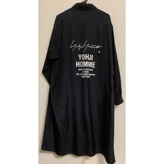 Yohji Yamamoto - 『 yohji yamamoto A-スタッフシャツA(BLACK)』