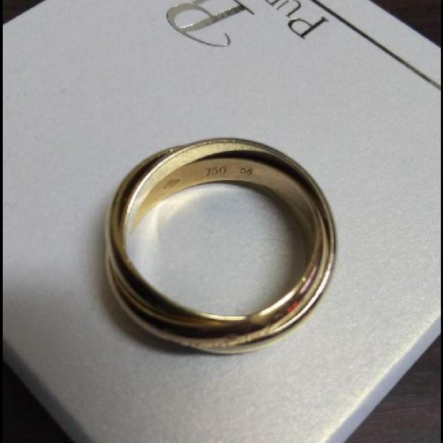 Cartier(カルティエ)の希少✨Cartier✨カルティエ✨K18トリニティリング✨ レディースのアクセサリー(リング(指輪))の商品写真