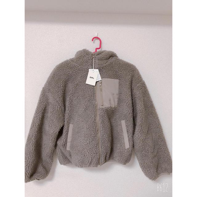 GRL(グレイル)のボアフリースブルゾン レディースのジャケット/アウター(ブルゾン)の商品写真