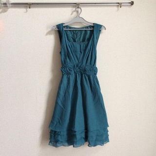 ブルーグリーン  ドレス(その他ドレス)