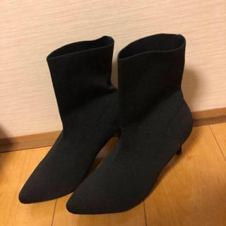 コウベレタス(神戸レタス)の値下げ‼️新品完売品 ソックスブーツ(ブーツ)