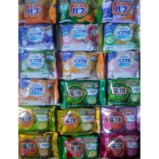 花王 - 入浴剤 18種類18個