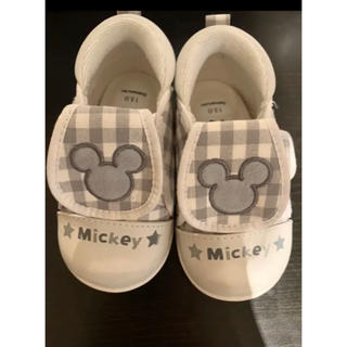 Disney - ミッキーマウス 笛付きスニーカー13センチ