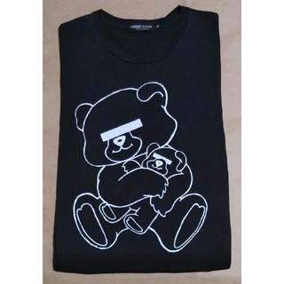 アンダーカバー(UNDERCOVER)のアンダーカバー ベアー Tシャツ 黒 M キスマイ 玉森 藤ケ谷 私服 正規 (アイドルグッズ)