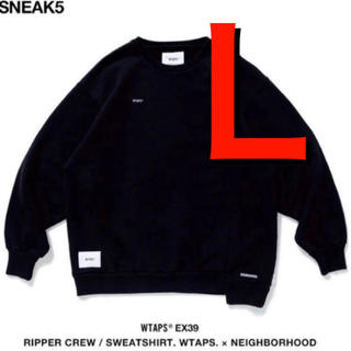 W)taps - WTAPS x NEIGHBORHOOD スウェット RIPPER C NECK