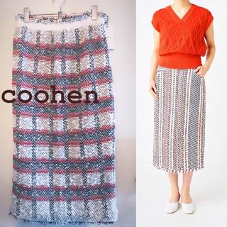 TOMORROWLAND - coohen コーヘン ツイード スカート