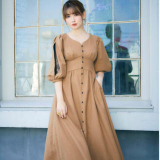 FRAY I.D - Her lip to♡Inner Lace Sleeve One-Piece