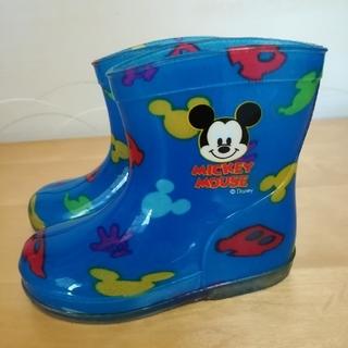 ディズニー(Disney)の桜&さくら 様専用 ミッキーマウス レインブーツ 長靴 13.0(長靴/レインシューズ)