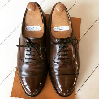 クロケットアンドジョーンズ(Crockett&Jones)のロイドフットウェア マスターロイド  ホワイトホール UK6.0 紗乃織靴紐(ドレス/ビジネス)