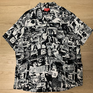 Supreme - 正規品Supreme Vibrations Rayon Shirt 総柄