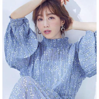 DOUBLE STANDARD CLOTHING - Sov.lily bell シフォンワンピース 田中みな実さん雑誌