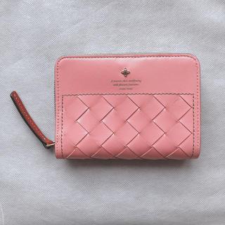 フレームワーク(FRAMeWORK)のFRAMeWORK フレームワーク 二つ折り財布 レディース ピンク メッシュ(財布)