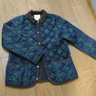 STUDIO CLIP - studio CLIP ブラックウォッチチェックのキルティングジャケット