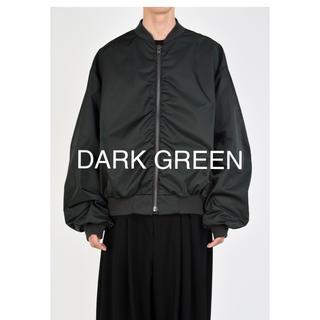 LAD MUSICIAN - MA-1  19aw 新品未使用品 DARK GREEN 46サイズ