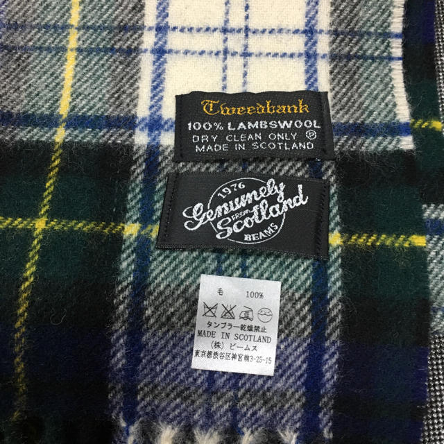 BEAMS(ビームス)の【期間限定価格】ビームスのマフラー レディースのファッション小物(マフラー/ショール)の商品写真