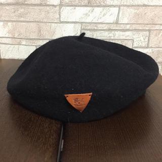 IL BISONTE - イルビゾンテ ベレー帽 ブラック