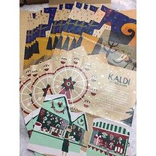 カルディ(KALDI)のカルディ  紙袋 15枚(その他)