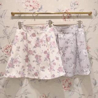 evelyn オリジナル花柄スカート