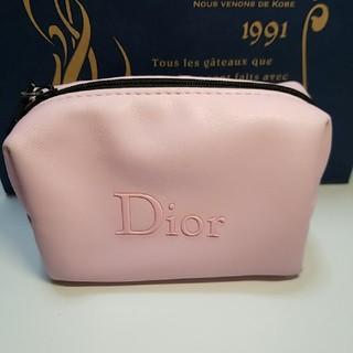 Dior - ディオールノベルティポーチ、ピンク限定品♡#レア商品