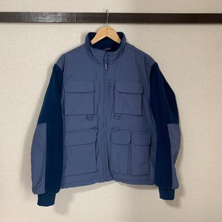 Supreme - supreme upland fleece field jacket S ブルー
