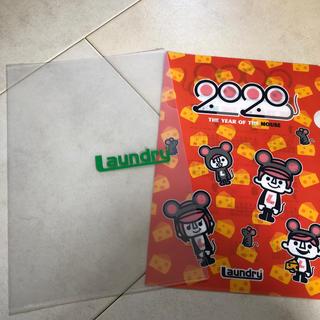 ランドリー(LAUNDRY)のlaundry★2020カレンダー クリアファイル(ノベルティグッズ)