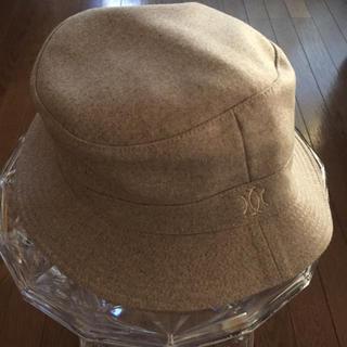エルメス(Hermes)のエルメス 帽子、人気色グレージュ、MOTSCH 未使用品(ハット)