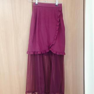 EATME - 2wayチュール付きスカート