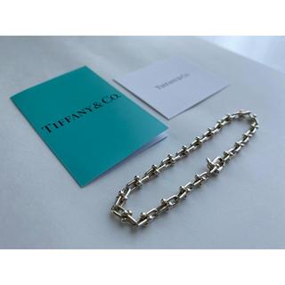 Tiffany & Co. - Tiffany&Co. ハードウェアマイクロリンクブレスレット