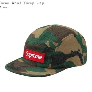 シュプリーム(Supreme)の Supreme Wool Camo Camp Cap カモBOX(キャップ)