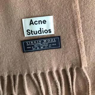 アクネ(ACNE)のAcne Studios マフラー キャメル(マフラー/ショール)