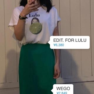 EDIT.FOR LULU - edit for lulu ×とんだ林蘭 コラボTシャツ