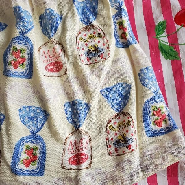 Shirley Temple(シャーリーテンプル)のシャーリーテンプル キャンディのワンピース 110 キッズ/ベビー/マタニティのキッズ服女の子用(90cm~)(ワンピース)の商品写真