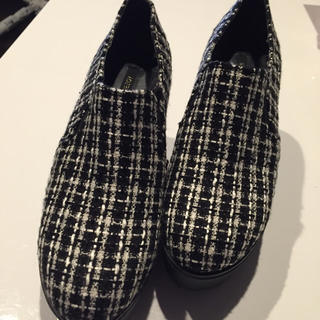 リゾイ(REZOY)のREZOY☆千鳥柄風靴(ローファー/革靴)