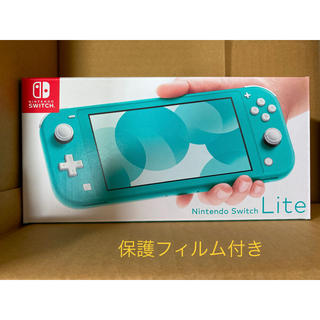 Nintendo Switch - Nintendo Switch  Lite ターコイズ 本日発送❗️