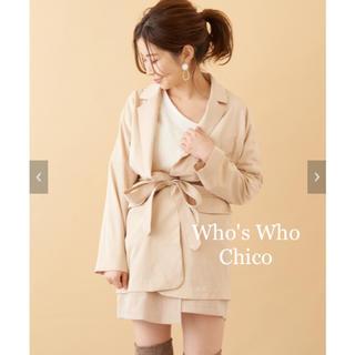フーズフーチコ(who's who Chico)の新品タグ付き🧸テーラードジャケット(テーラードジャケット)