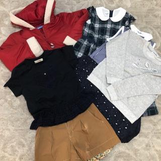 familiar - ファミリア お洋服 120サイズ 6点セット