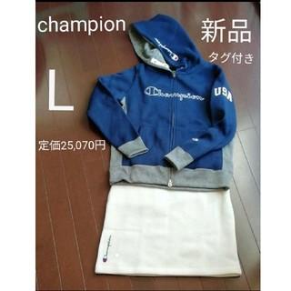 Champion - 新品 champion チャンピオン ゴルフ レディース セットアップ  L