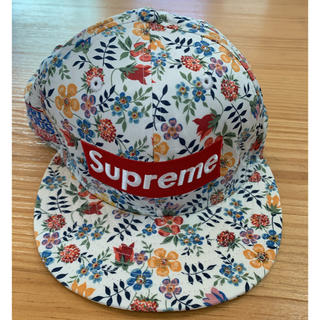 Supreme - 13ss supreme キャップ new era flower liberty
