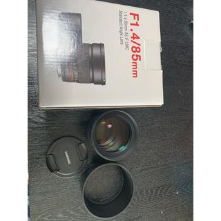 Canon - 美品 SAMYANG  サムヤン F1.4/85mm キヤノン用