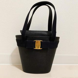 Ferragamo - 【良品】フェラガモ◆ヴァラ バケツ型 ハンドバッグ