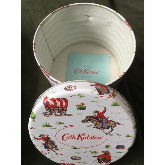 Cath Kidston(キャスキッドソン)のキャスキッドソン  丸缶ケース♡新品未使用 その他のその他(その他)の商品写真