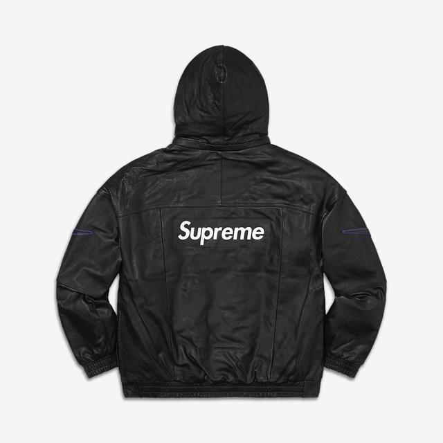 Supreme(シュプリーム)の本日限定値下げ! ナイキ x シュプリーム レザー ボンバージャケット メンズのジャケット/アウター(レザージャケット)の商品写真